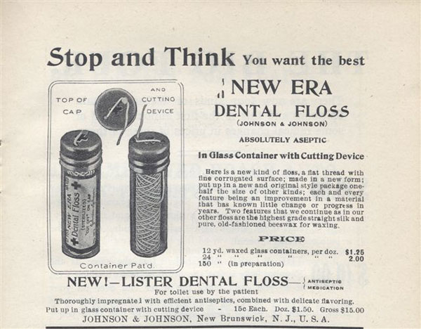 Early Dental Floss
